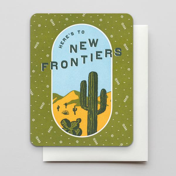 To New Frontiers Card