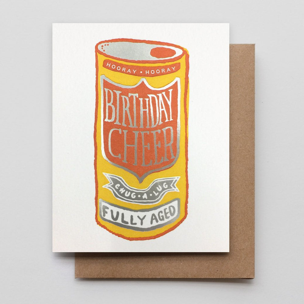 Birthday Cheer Beer Card