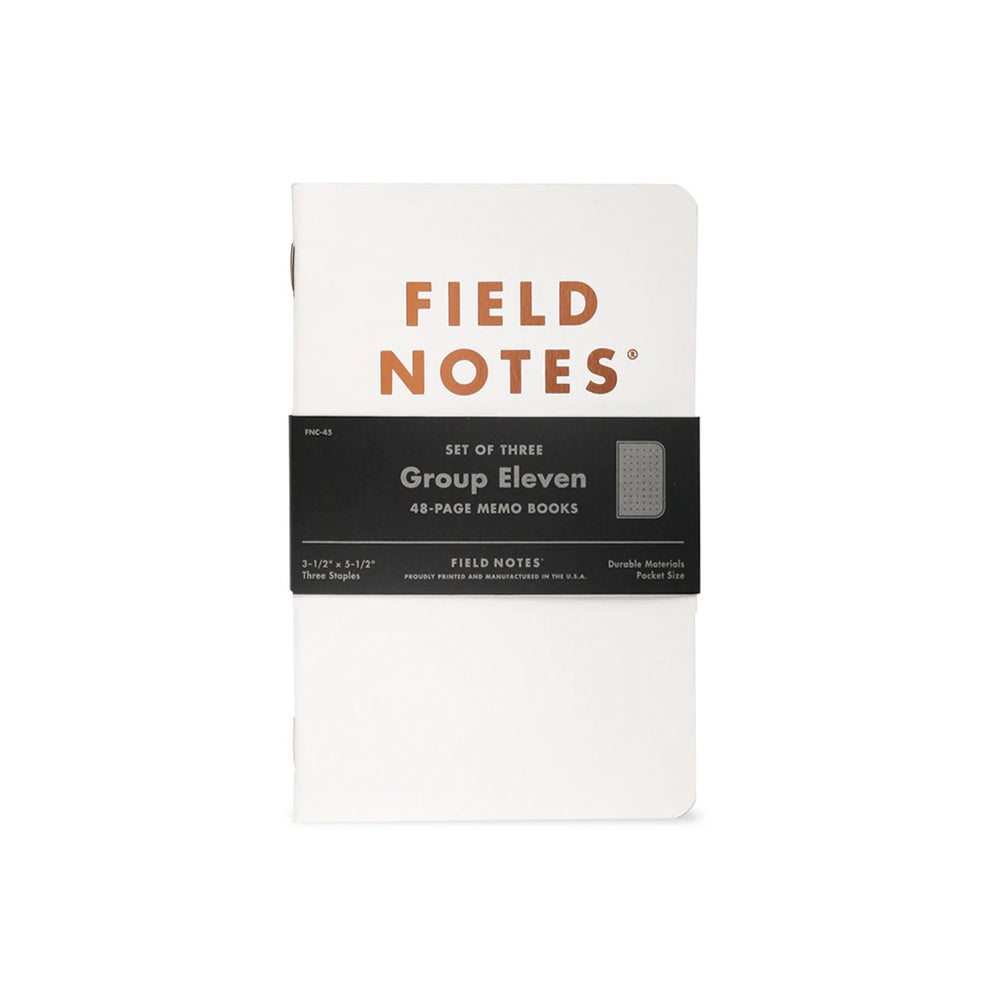 Group Eleven Field Notes 3-Pack