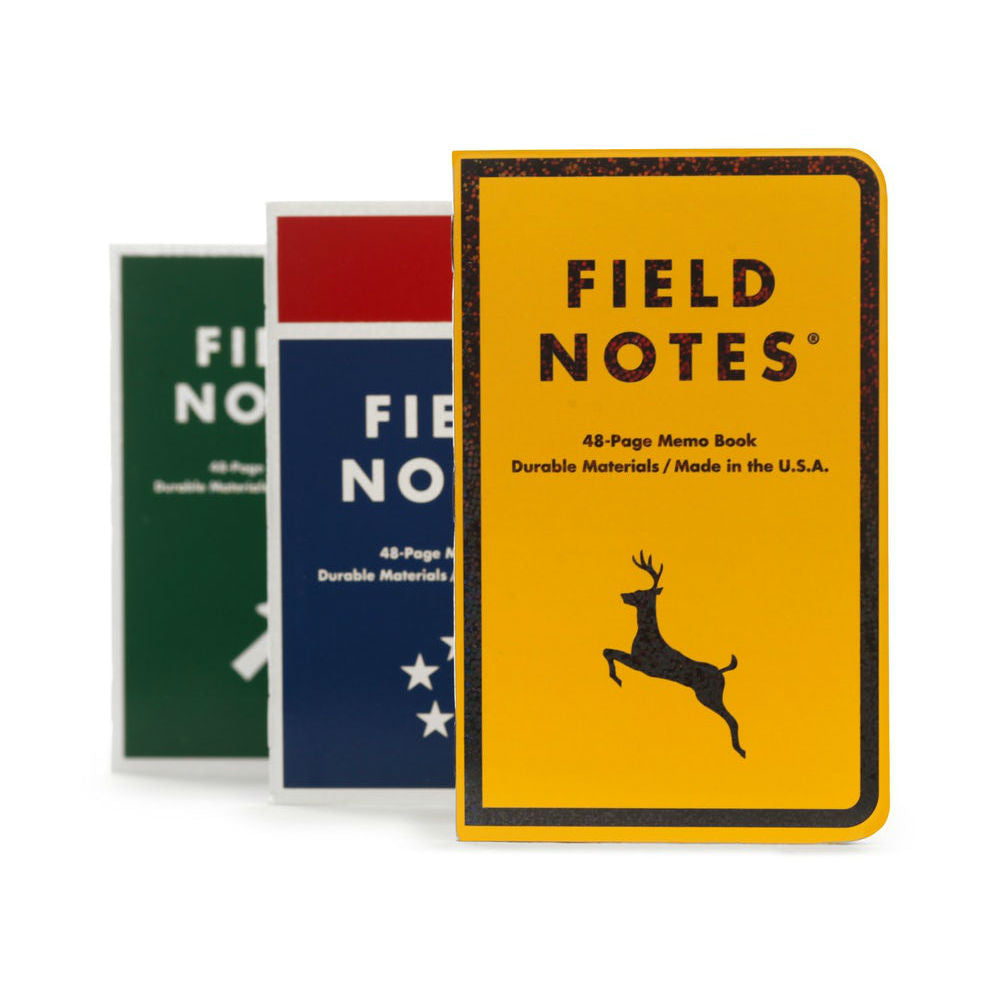 Mile Marker Field Notes 3-Pack