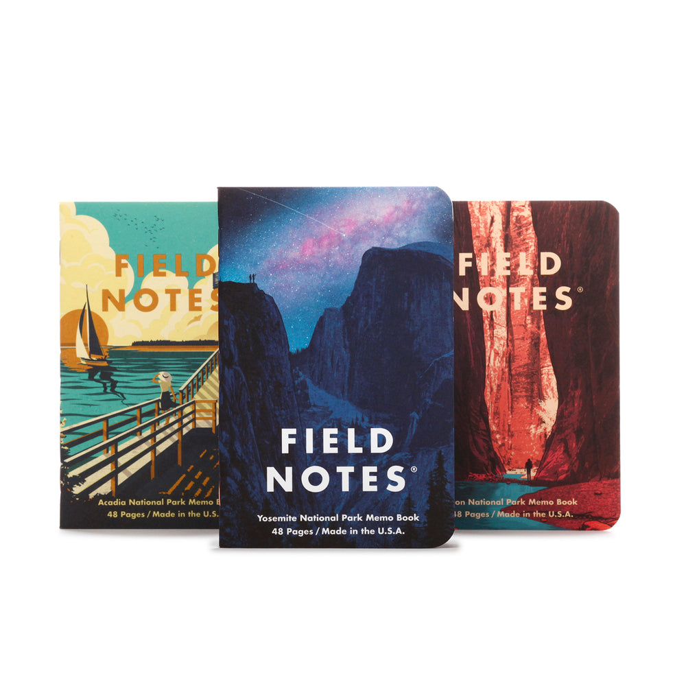 Field Notes | National Parks Series A