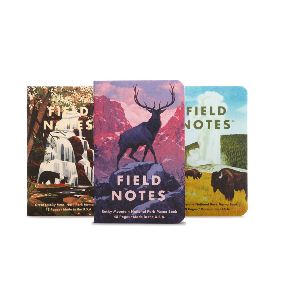 Field Notes | National Parks Series C