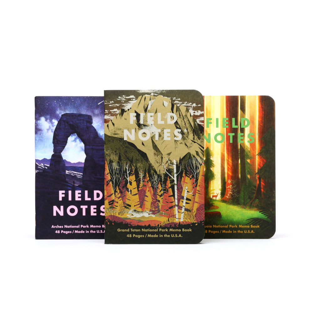Field Notes | National Parks Series D