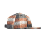 FairEnds Flannel Ball Cap - Rust & Grey Plaid