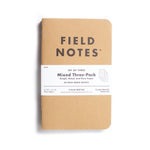 Field Notes - Kraft Mixed 3 Pack