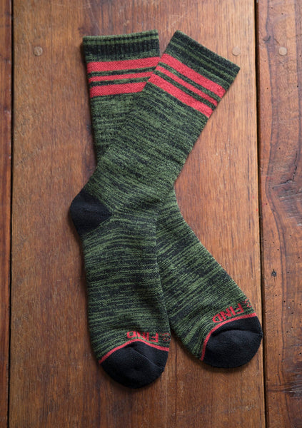 Green Cove Collective - Olive Camp Socks