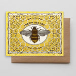 Hammerpress Happy Bee Day Card