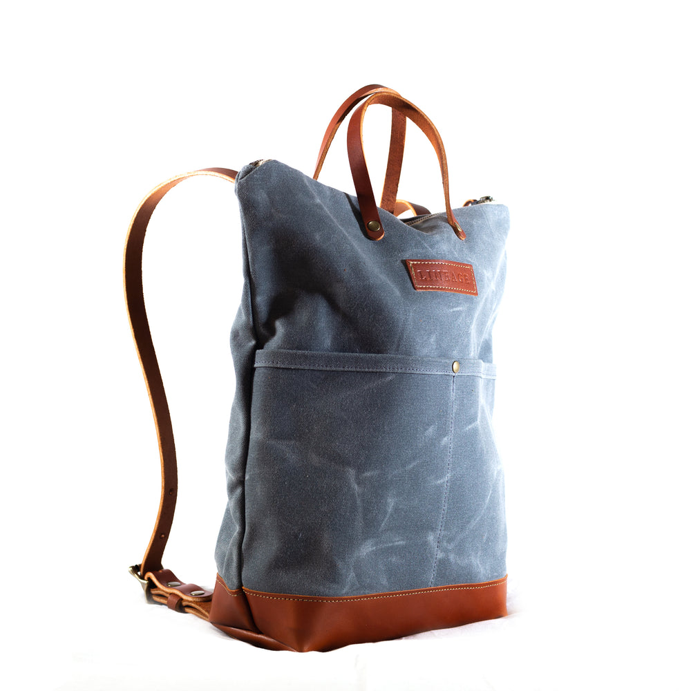 York Deluxe Backpack - Charcoal