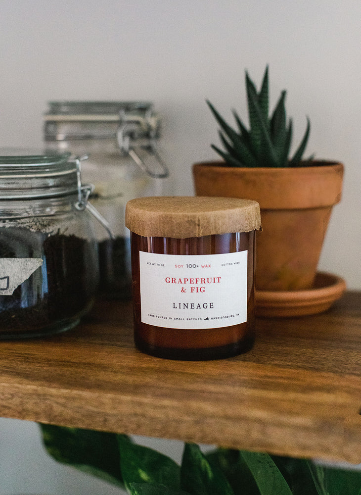 Grapefruit & Fig Candle