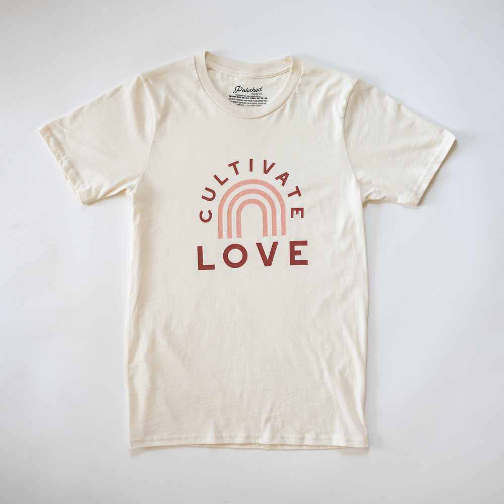 Cultivate Love Rainbow T-Shirt
