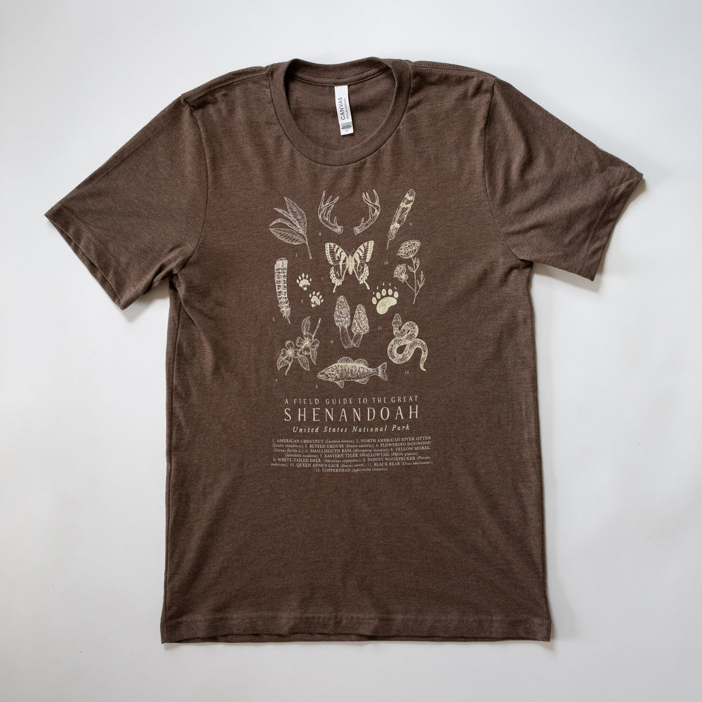 Shenandoah National Park T-shirt - Brown