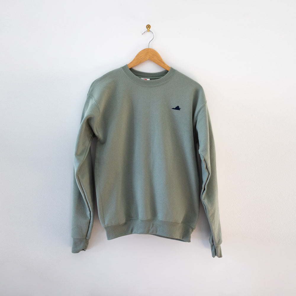 Dogwood & Cardinal Sweatshirt - Mint