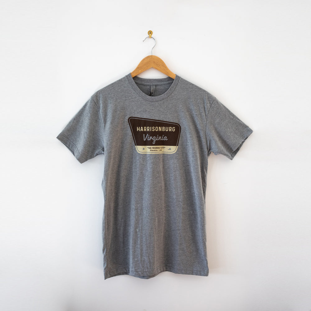 Harrisonburg Park Badge T-Shirt