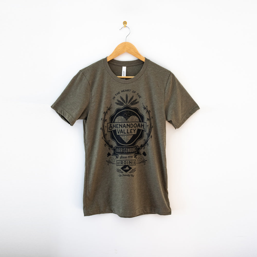 Shenandoah Valley T-Shirt - Army Green