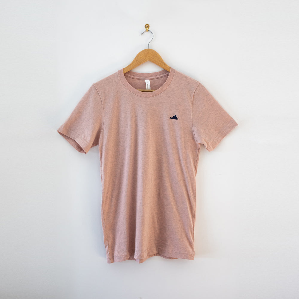 Dogwood & Cardinal T-Shirt - Salmon