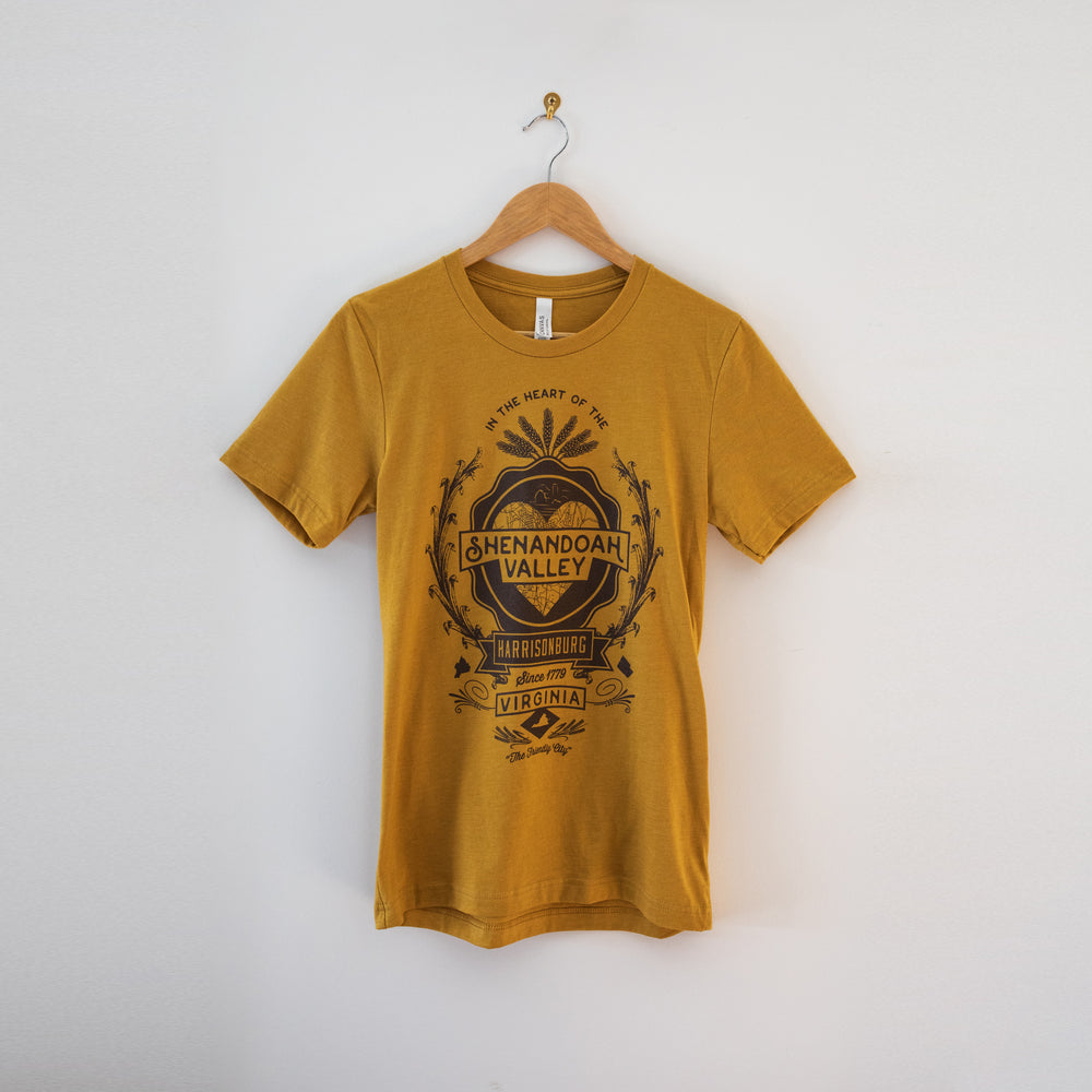 Shenandoah Valley T-Shirt - Gold
