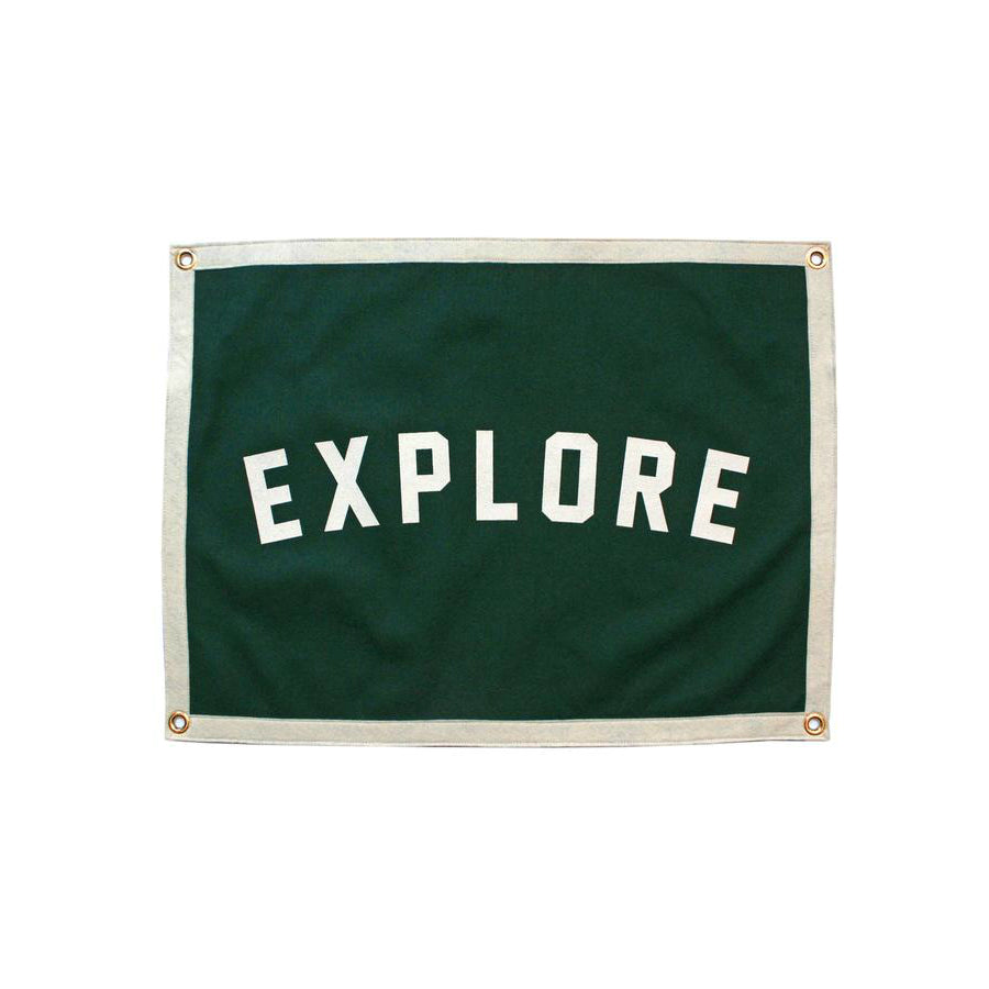 Oxford Pennant - Explore Camp Flag