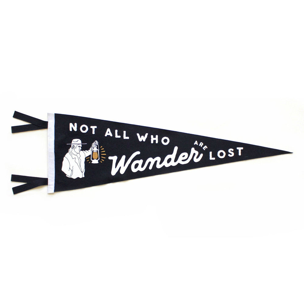 Oxford Pennant - Not All Who Wander Are Lost Pennant