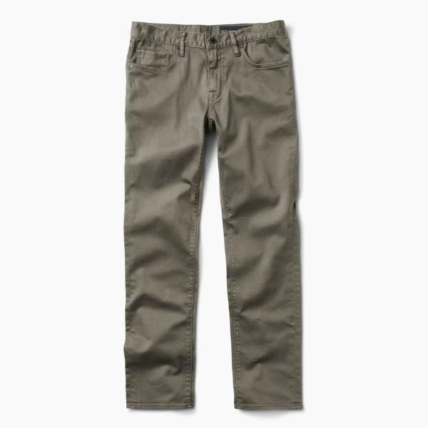 Hwy 133 5-Pocket Jeans in Army