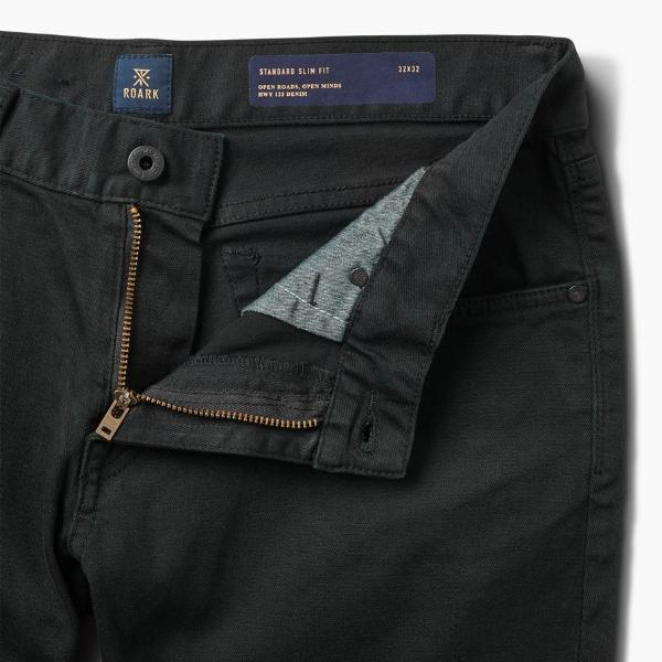 Hwy 133 5-Pocket Jeans in Worn Black