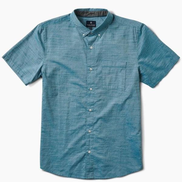 Well Worn Button Up Shirt - Ocean