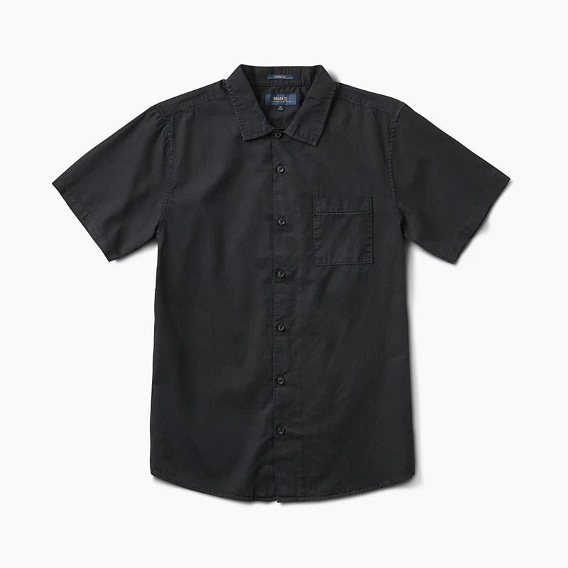 Well Worn Button Up Shirt - Black