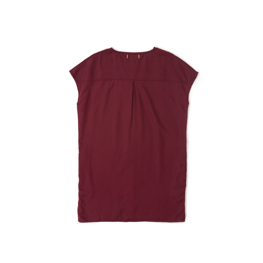 Old Orchard Dress - Merlot