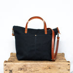 Rapidan Crossbody Tote - Black