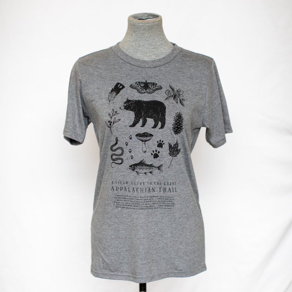 Appalachian Trail T-shirt - Heather Charcoal