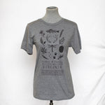 Virginia Flora & Fauna T-shirt - Heather Charcoal