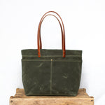 Mountain Laurel Tote - Olive