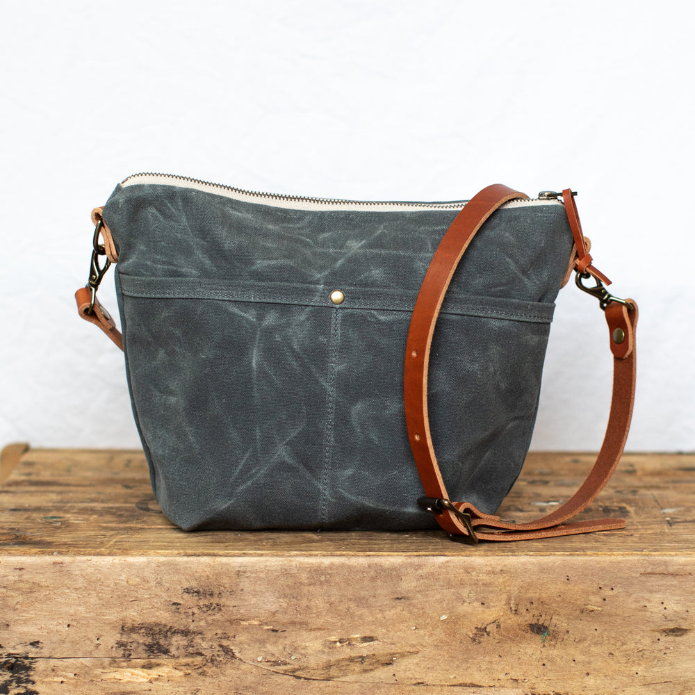Rivanna Crossbody Bag - Charcoal