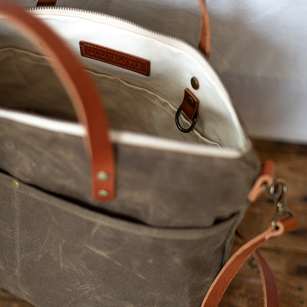 Rapidan Crossbody Tote - Field Tan