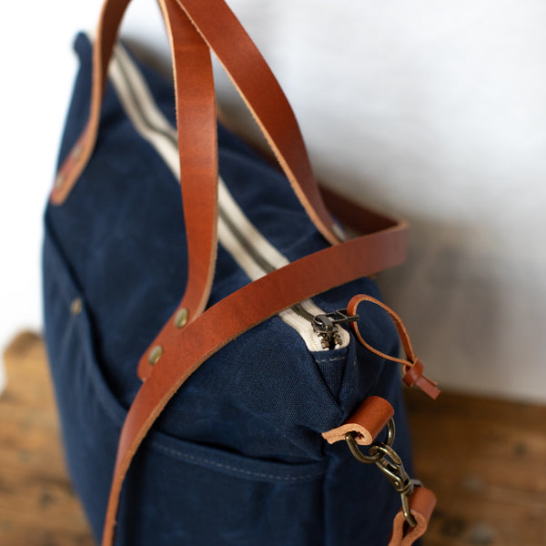 Rapidan Crossbody Tote - Navy