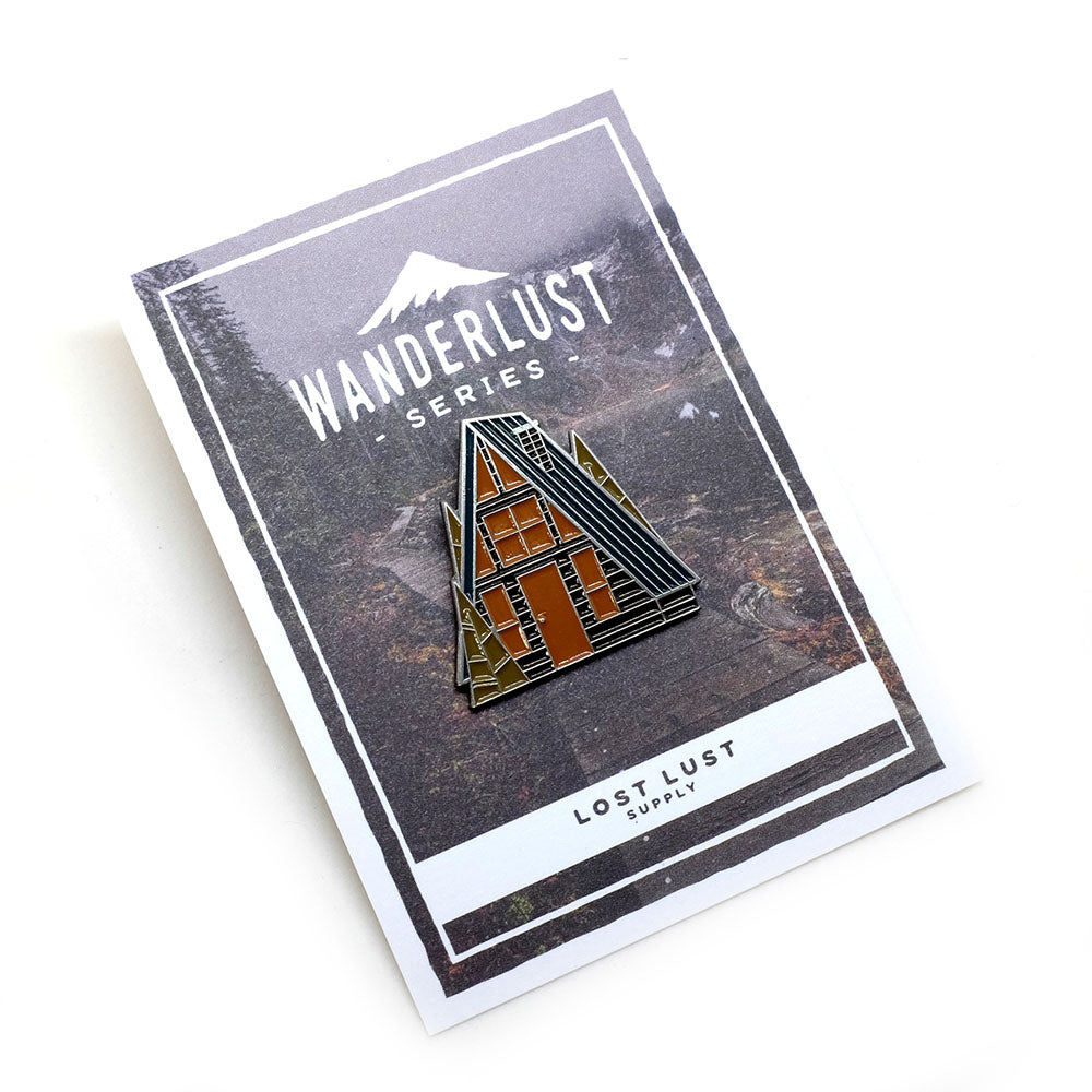 Lost Lust Supply - Spring A-Frame Pin