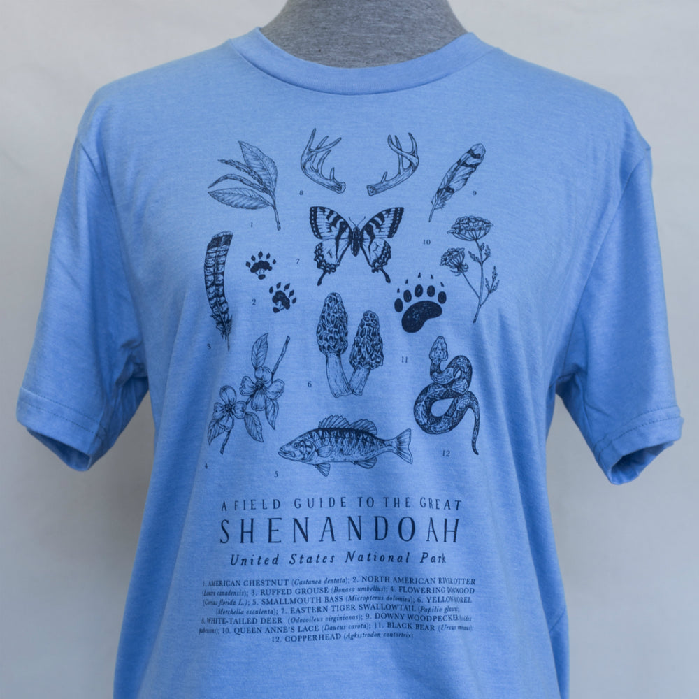 Shenandoah National Park T-shirt - Baby Blue