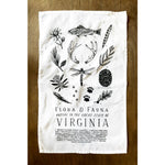 Wild Wander Field Guide Tea Towel