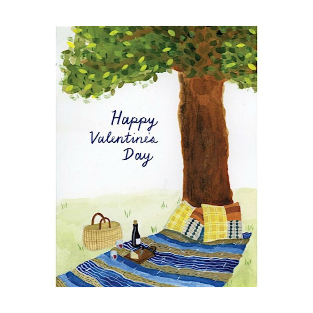 Small Adventure - Valentine's Picnic Card