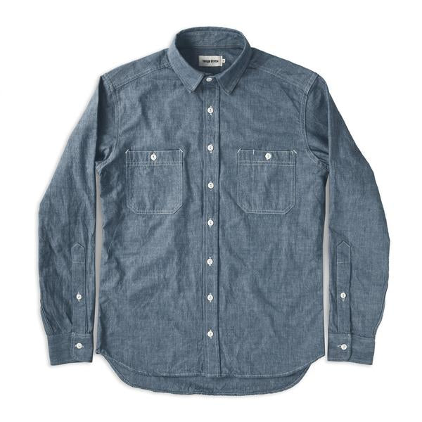 The California in Blue Everyday Chambray