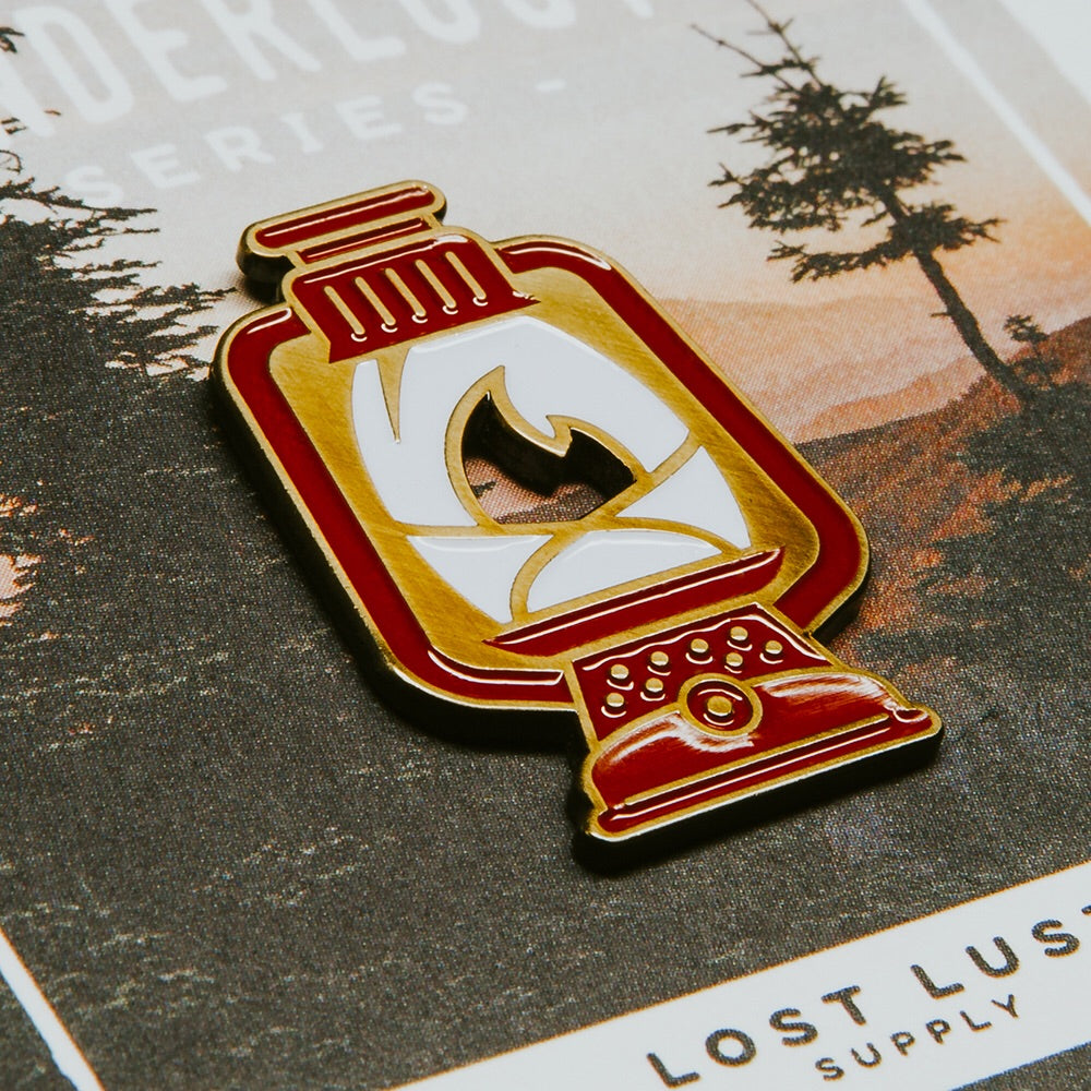 Lost Lust Supply - Lantern Enamel Pin