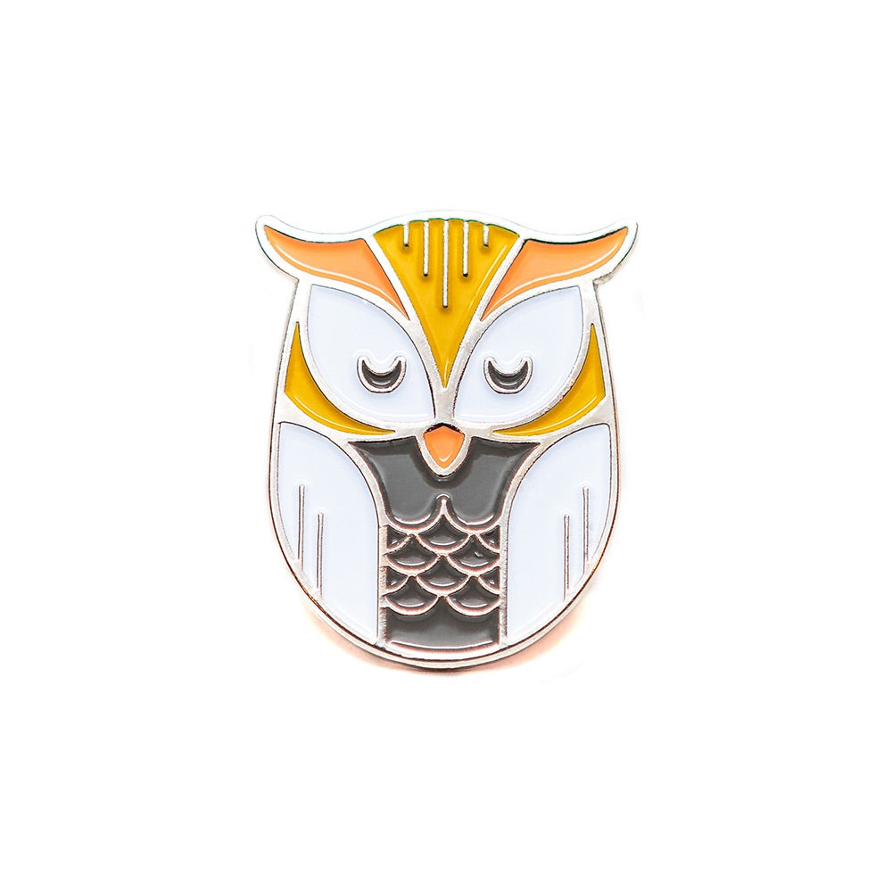 Lost Lust Supply - Owl Enamel Pin