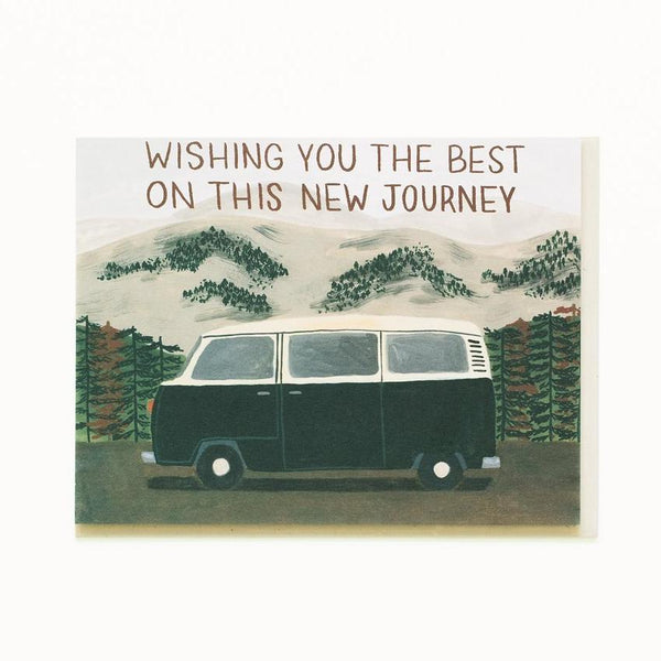 Small Adventure - New Journey Van Card