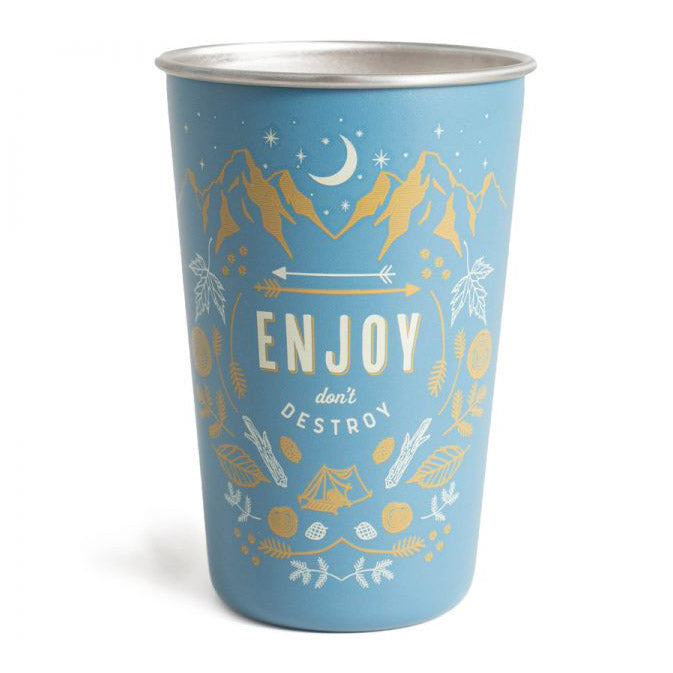 Enjoy 16OZ Stainless Steel Tumbler