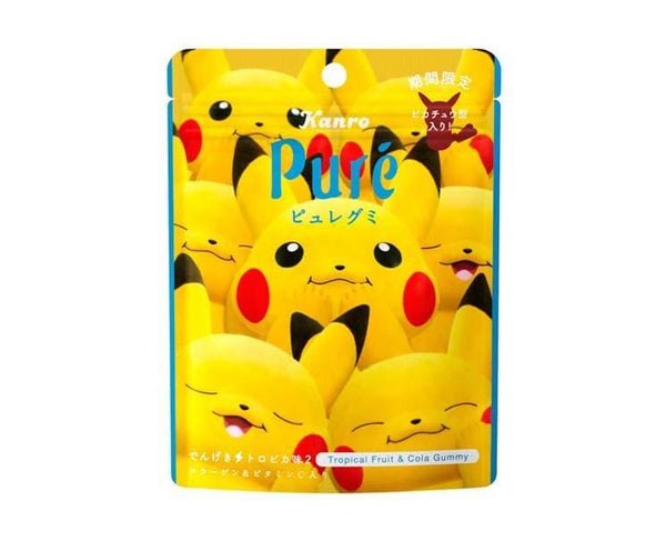 Pure Pikachu Tropical and Cola Gummy