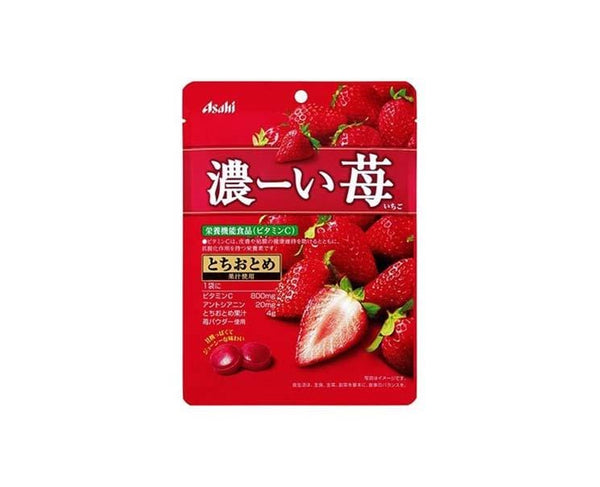 Asahi Rich Strawberry Candy