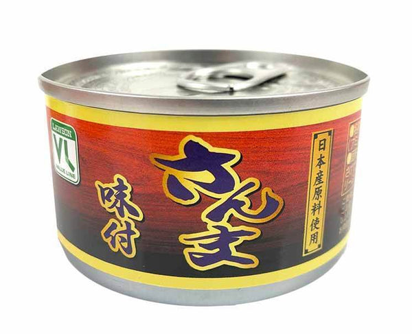 Canned Pacific Saury (Soy Sauce)