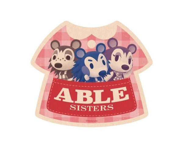 Animal Crossing Travel Sticker Able Sisters