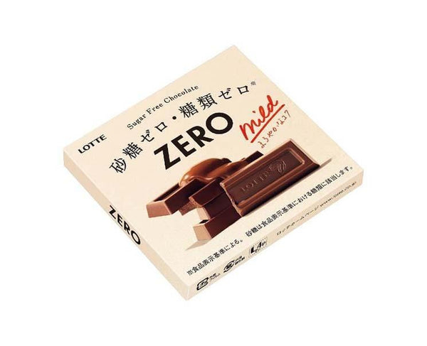 Lotte Mild Zero Chocolate