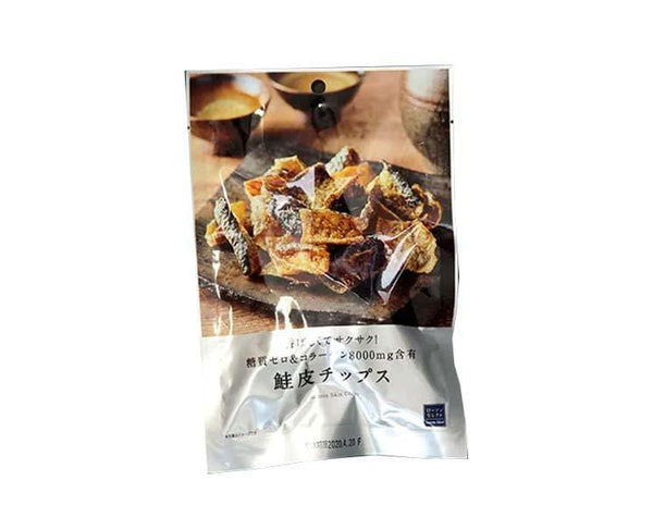 Lawson's Deep-Fried Salmon Skin Chips