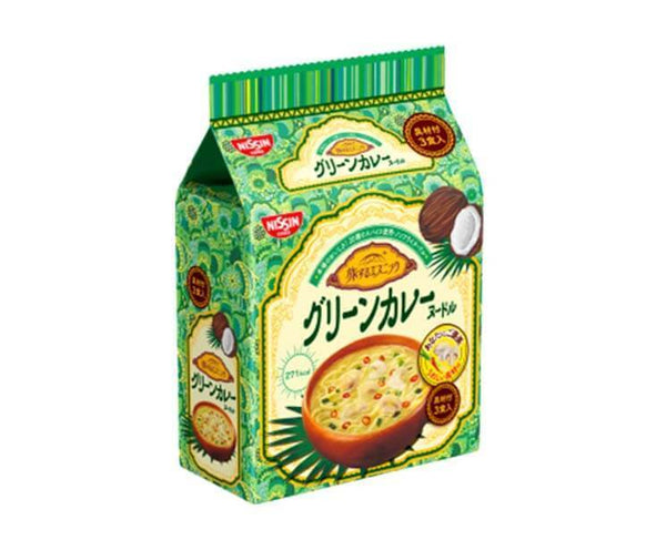 Nissin Green Curry Noddles